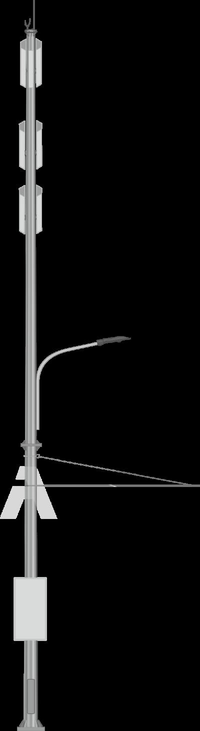 Dual Purpose Cellular Poles (ODN)