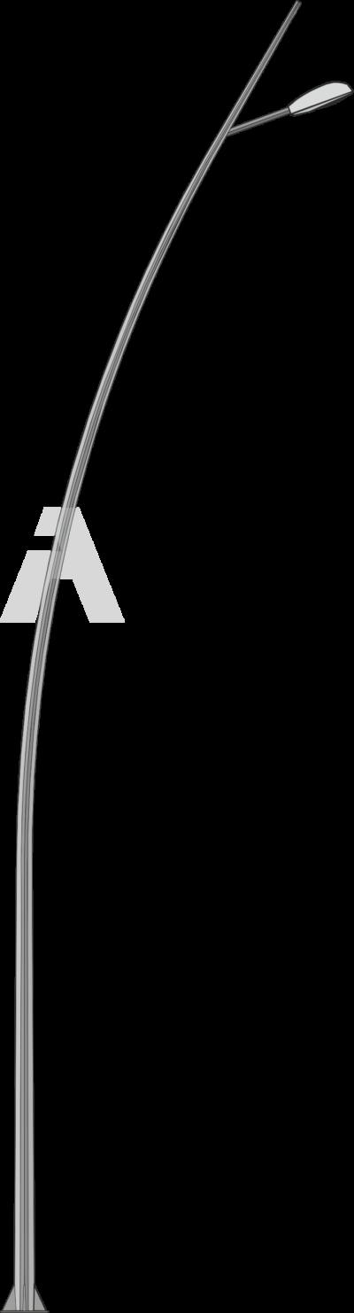 Octagonal conic bent pole (OGKLI)