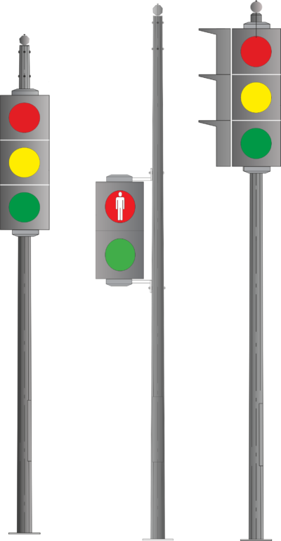 Light signaling equipment poles (OSFG)