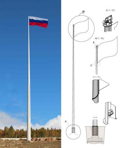 Flagpoles (FL and FKK)