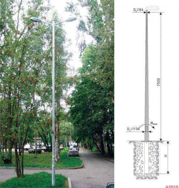 Octagonal Block Pole For Underground Feed System (OGKKZ