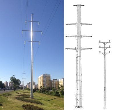 Power transmission line towers (OGKLEP)